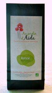Tisane Ronce, Au jardin d'Aïda, plantes aromatiques et médicinales, agriculture biologique