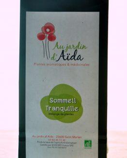 Tisane, Au jardin d'Aïda, plantes aromatiques et médicinales, agriculture biologique