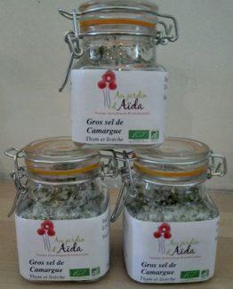 Sel aux herbes, Au jardin d'Aïda, plantes aromatiques et médicinales, agriculture biologique